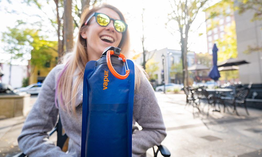8 Reasons to Travel With a Vapur Water Bottle | Travel Gear Guides