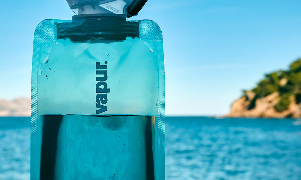 Vapur Water Bottle | Sustainable Travel Gear Guide