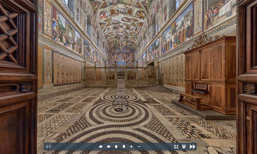 Vatican Museum Virtual Tour | Flashpacker Blog