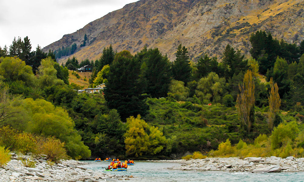 White Water Rafting | Where to Visit in New Zealand | Flashpacker Blog