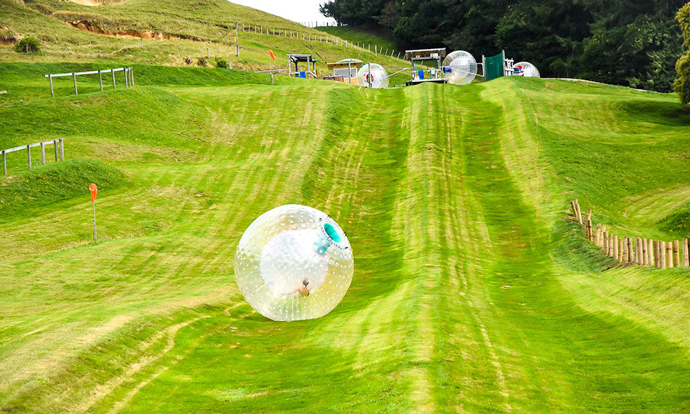 Zorbing in New Zealand | Where to Visit in New Zealand | Flashpacker Chronicles