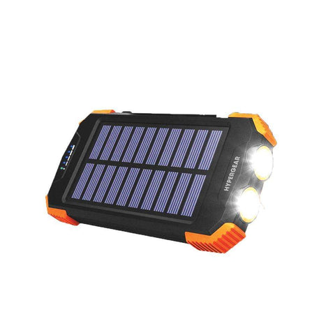 Hypergear 10,000 mAh Solar Powered Wireless Power Bank | Travel Accessories