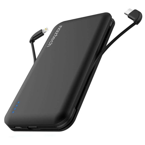 Naztech Lightning + USB-C  All in One Power Bank | Travel Electronics