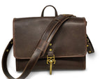 "Jack Foster ""The Southland"" Leather Messenger Bag 