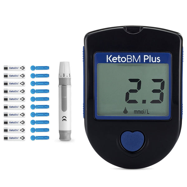 KetoBM Plus Ketone Blood Meter Kit