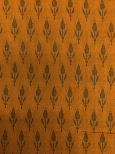 Mustard Yellow Woven Two By Two 35""