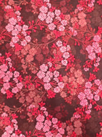 Load image into Gallery viewer, Red Embroidered Organza 44""
