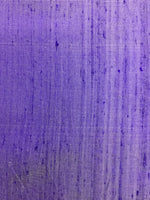 Load image into Gallery viewer, Purple Raw Silk 44""