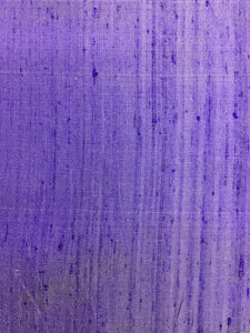 Purple Raw Silk 44""