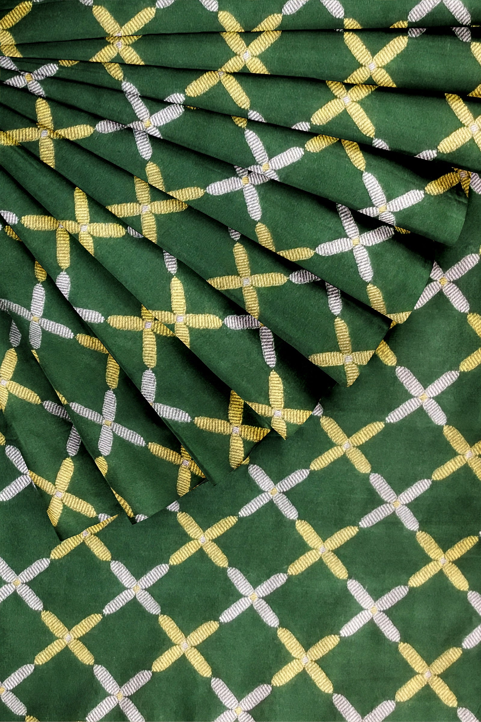 Dark Green Banarasi 44""