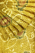 Load image into Gallery viewer, Mustard Yellow Printed Silk 44""