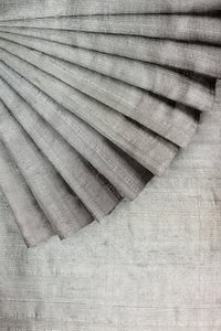 Grey Raw Silk 44""