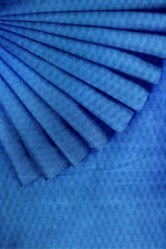 Load image into Gallery viewer, Blue Bhagalpur Silk 44""