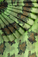 Load image into Gallery viewer, Green Printed Organza 44""