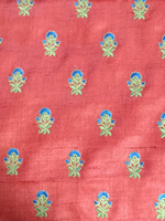 Load image into Gallery viewer, Pink Embroidered Tussar 44""