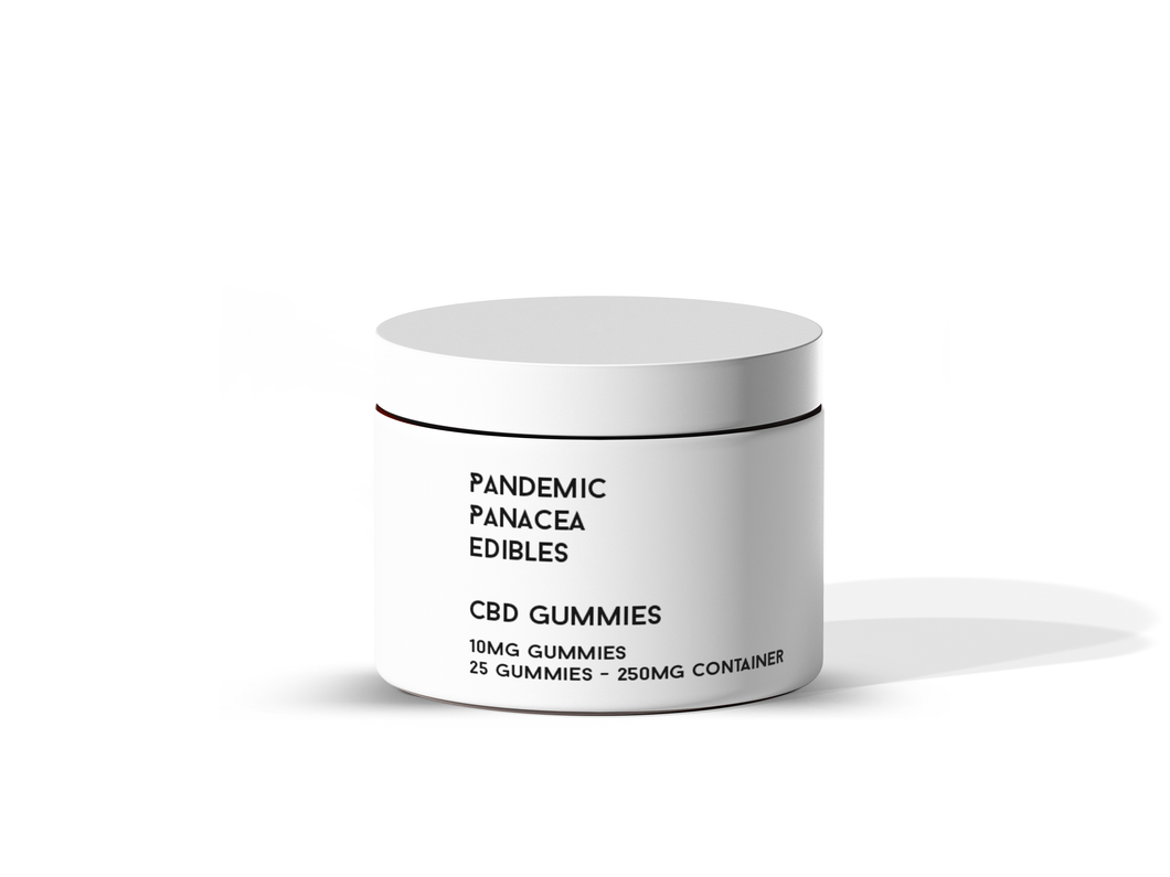 Pandemic Panacea Edibles - CBD GUMMIES