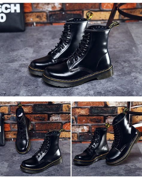 Leather Boots Women