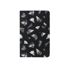 Notebook, Black Pieces