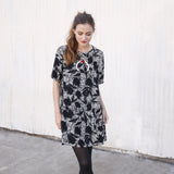 The Waverly Dress, Graffiti Floral