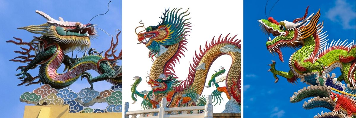Sculptures Dragon Chinois