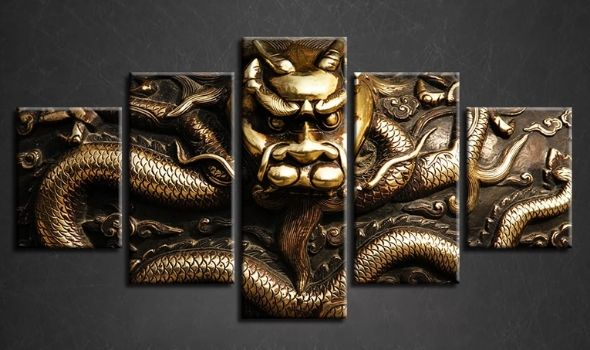 Tableau Dragon Chinois