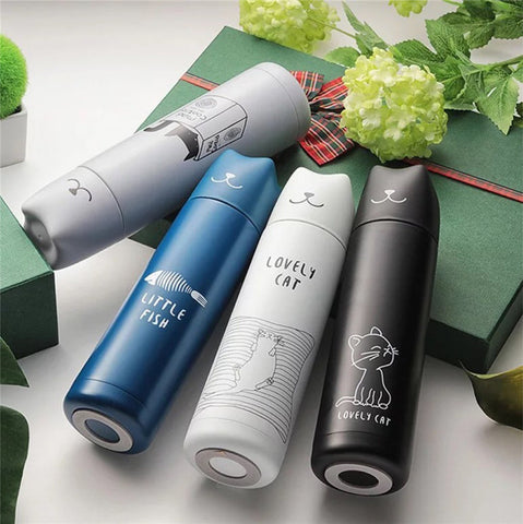 Thermos Nomade Motif Chat