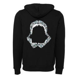 Shark Jaw Fleece Pullover Hoodie