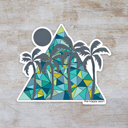 Maldives Vinyl Sticker