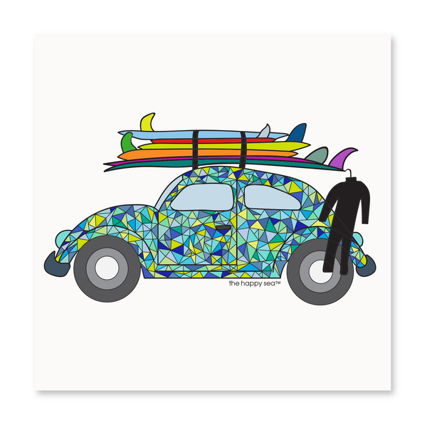 VW Bug Art Print