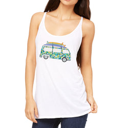 VW Surf Van Beach Tank