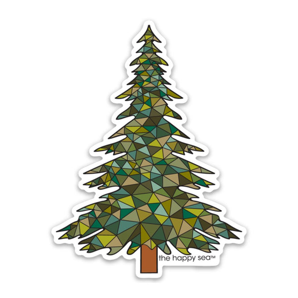 Pine Tree Vinyl Sticker