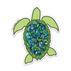 Sea Turtle Vinyl Sticker
