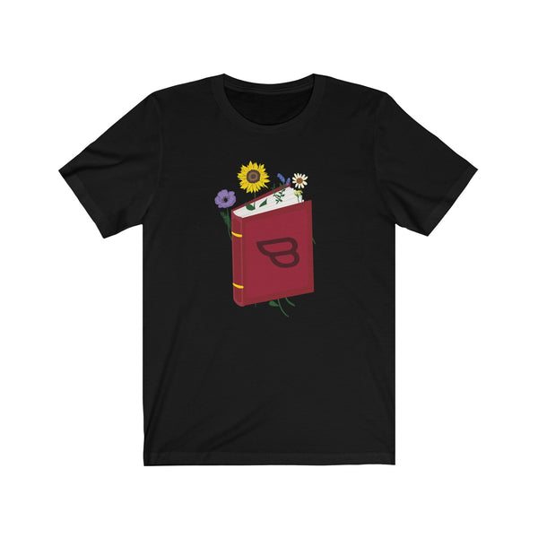 Unisex Bookstr Flower T-Shirt