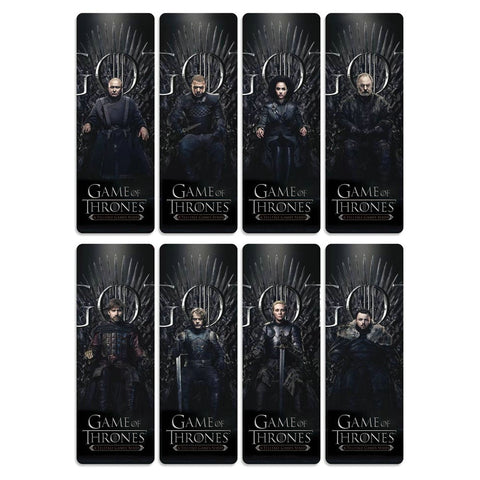 8pcs Game of Thrones Bookmarks Waterproof