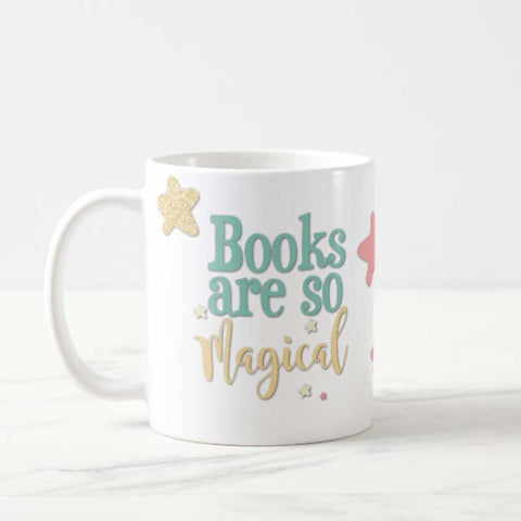 Books Are So Magical Mug