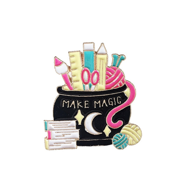 """Make Magic"" Pin"