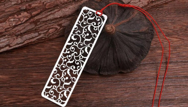 Creative Flower Hollow Bookmarks