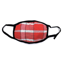 Load image into Gallery viewer, Cotton Plaid Striped Face Mask 6PCS SET PFMASK2020