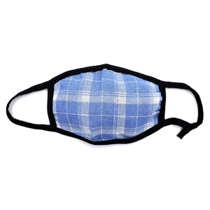 Cotton Plaid Striped Face Mask 6PCS SET PFMASK2020