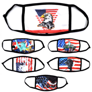 2020 AMERICAN FLAG MASK 6PCS SET AFMASK2020 MIX-2
