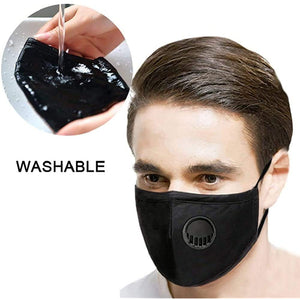 Fashion Cotton Mask with PM2.5 Filter (Assorted)
