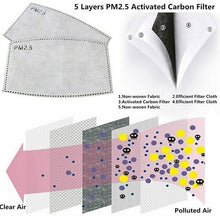 Load image into Gallery viewer, Fashion Printed Cotton Mask with PM2.5 Filter (Assorted)