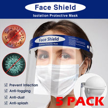 Load image into Gallery viewer, TRANSPARENT FACE SHIELD 5PCS SET (FSMASK19)