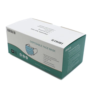 DISPOSABLE FACE MASK (G1-001) 50PCS SET