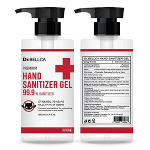 HSG500-01 HAND SANITIZER GEL Ethanol 70% 500ml(16.9 fl.oz)