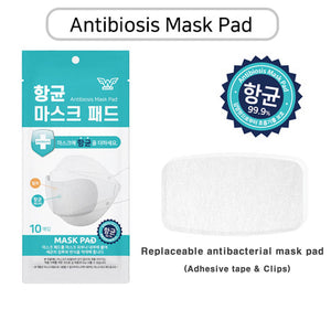 Antibiosis Mask Filter Pad 50 pads