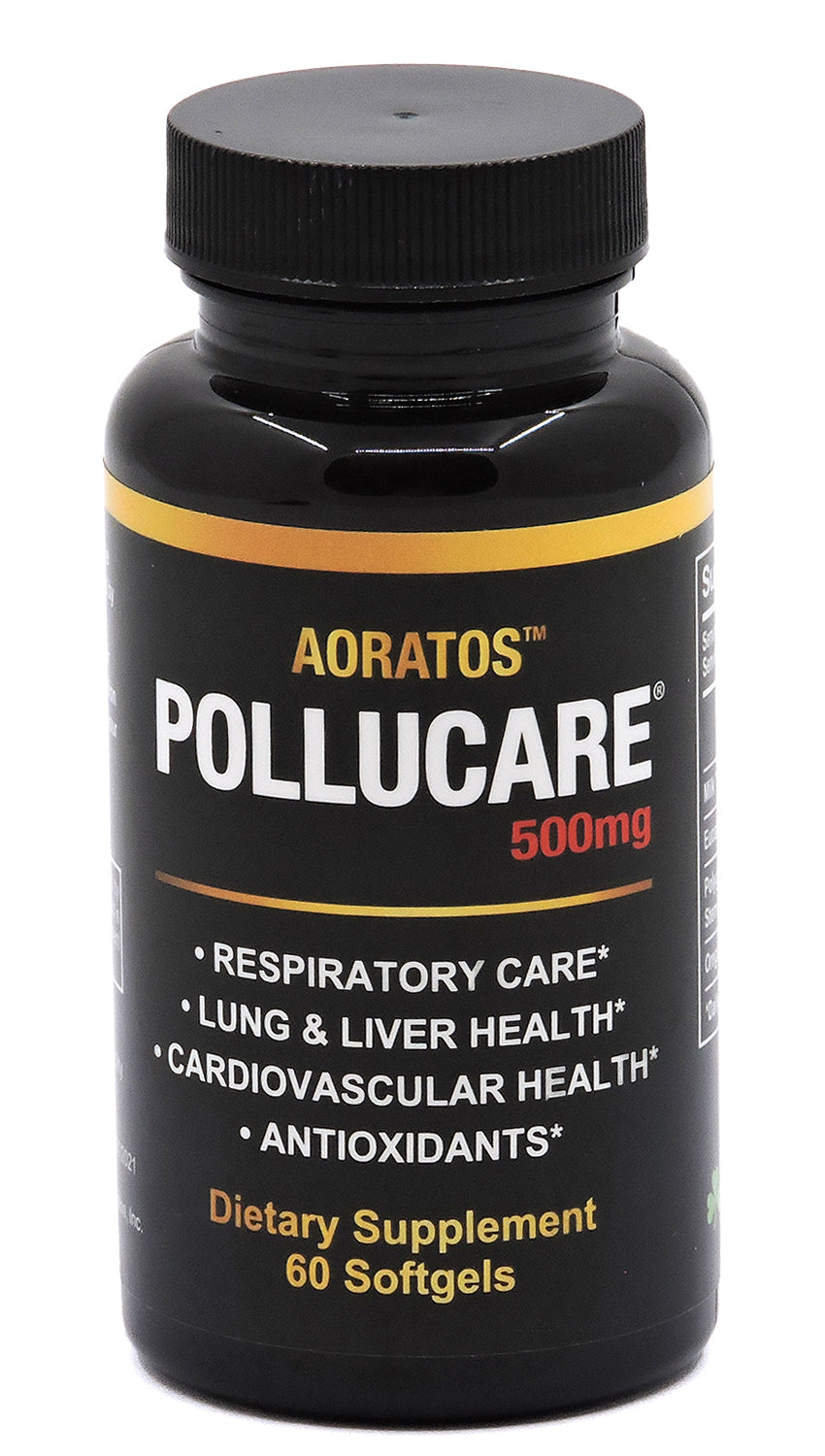 PolluCare 60 Count 500mg Softgels