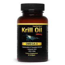 Load image into Gallery viewer, Superba Boost Krill Oil 500mg 60 Softgels