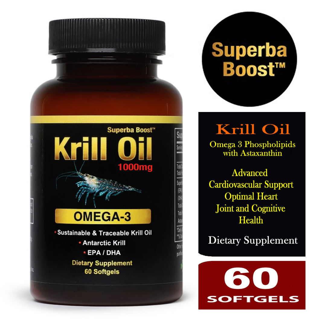 Superba Boost Krill Oil 500mg 60 Softgels
