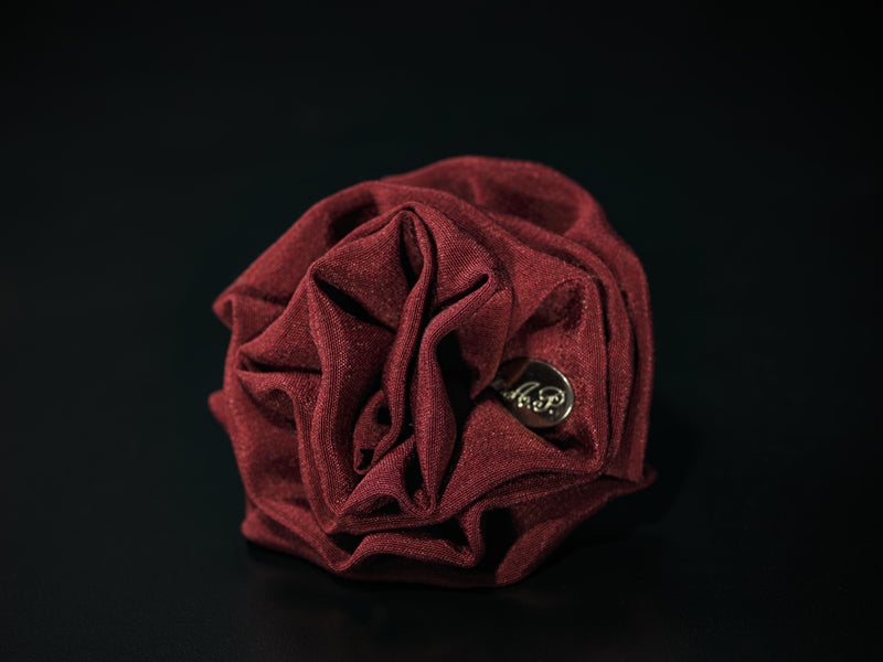 MyB Silk Flower Wine Red